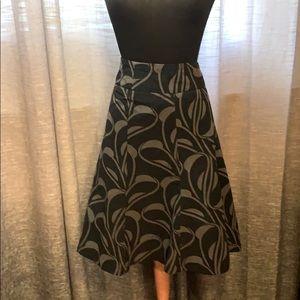 H&M fully lined skirt